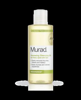 New: Murad Renewing Cleansing Oil