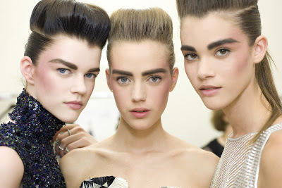 Makeup: 2013-14 CHANEL Fall/Winter Haute Couture Show
