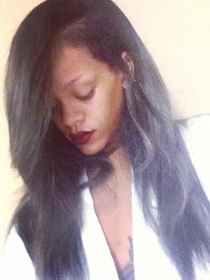 Rihanna's New Gray Ombre Hair Color