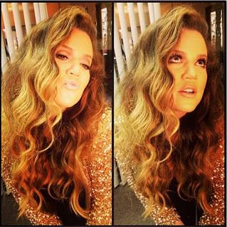 Hairstyle: Khloe Kardashian's Textured Waves