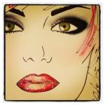 First Look: Macy's Glamorama Makeup Look Courtesy Of National Makeup Artist Alex Sanchez