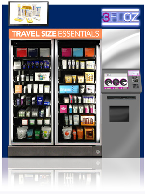 3FLOZ's Fully Automated Airport Retail Stores
