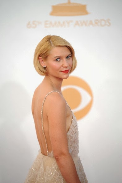 Best Emmys 2013 Makeup & Hair: Claire Danes