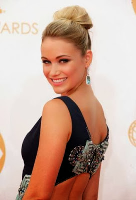 Emmys 2013 Makeup: Katrina Bowden
