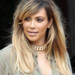 Kim Kardashian's New Blonde Hair