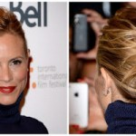 Hairstyle How-to: Maria Bello's Deconstructed Knotted Updo