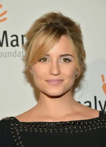 Makeup: Dianna Agron, Whitney Museum Gala
