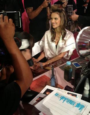 Alessandra Ambrosio's Pre Victoria's Secret Fashion Show Beauty Secret