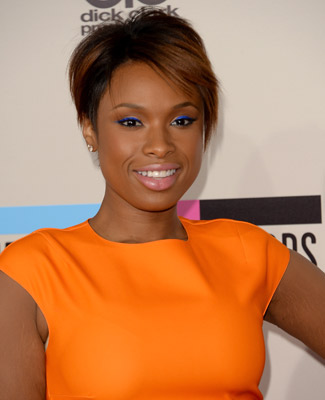 Makeup: Jennifer Hudson At The American Music Awards
