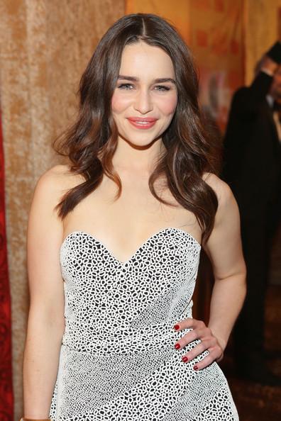 Golden Globes 2014 Hairstyle: Emilia Clarke