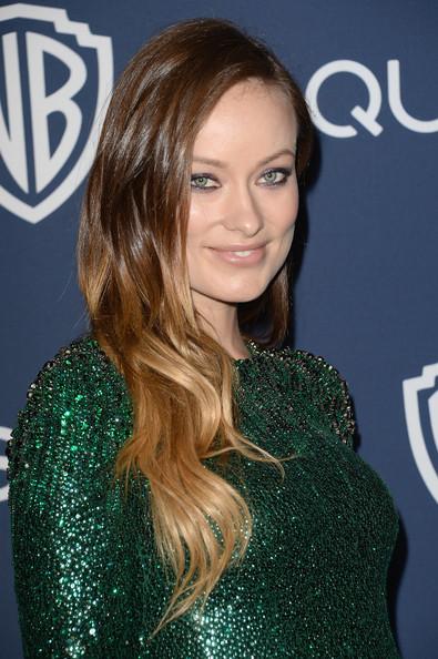 Golden Globes 2014 Hairstyle: Olivia Wilde