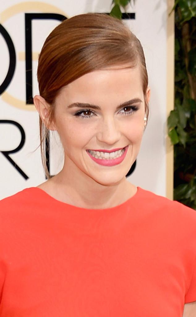 Golden Globes 2014 Hairstyle: Emma Watson