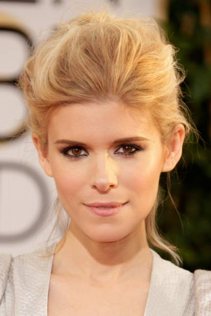 Get The Look Kate Mara S Makeup At The Golden Globes 2014