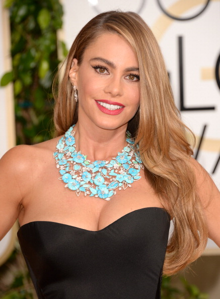 Get The Look: Sofia Vergara's Golden Globes 2014 Hairstyle