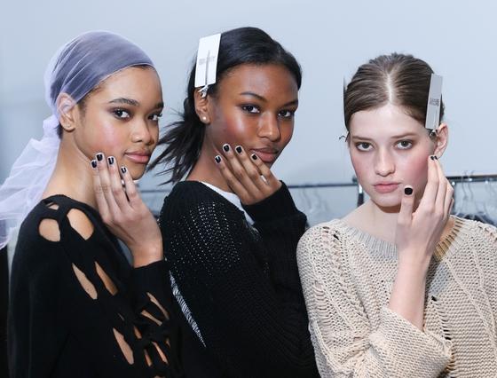 Fashion Week Fall 2014 Nails: Jin Soon For Tess Giberson