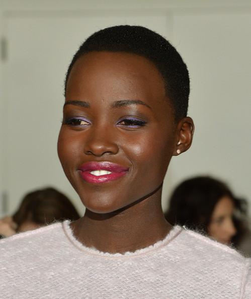 Lupita Nyong'o's Fashion Week Hairstyle For Ralph Lauren