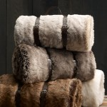 Blizzard Essential: Restoration Harware Wolf Faux Fur Throw