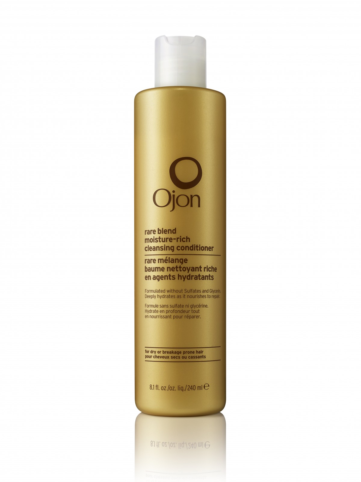 Shampoo vs. Conditioner: Ojon Rare Blend Moisture-rich Cleansing Conditioner