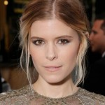 Kate Mara's Perfectly Pretty Bronze Smoked-out Lids: Get The Look