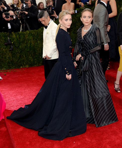MET Gala 2014 Hairstyle: Mary-Kate And Ashley Olsen