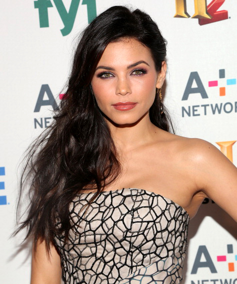 Hairstyle: Jenna Dewan Tatum At The A+E Networks 2014 Upfronts