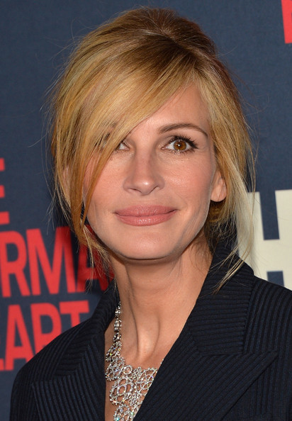 Makeup Julia Roberts At The Normal Heart Premiere