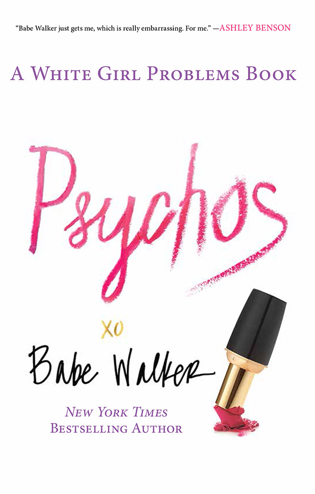 Fictitious Fragrance Fan: Babette Walker of 'White Girl Problems'