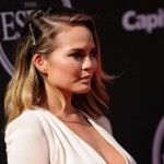 Makeup: Chrissy Teigen At The ESPYs