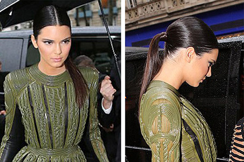 How-to: Kendall Jenner's Sleek Pony