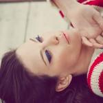 Liv Tyler's Electric Blue Cat-Eye For Violet Grey