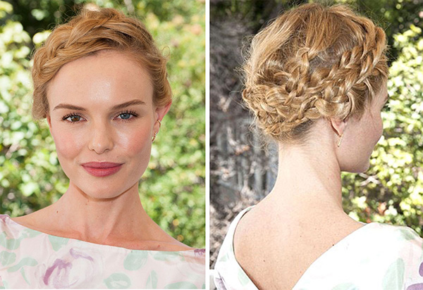 Kate Bosworth's Heidi Braids At Style Thief Launch