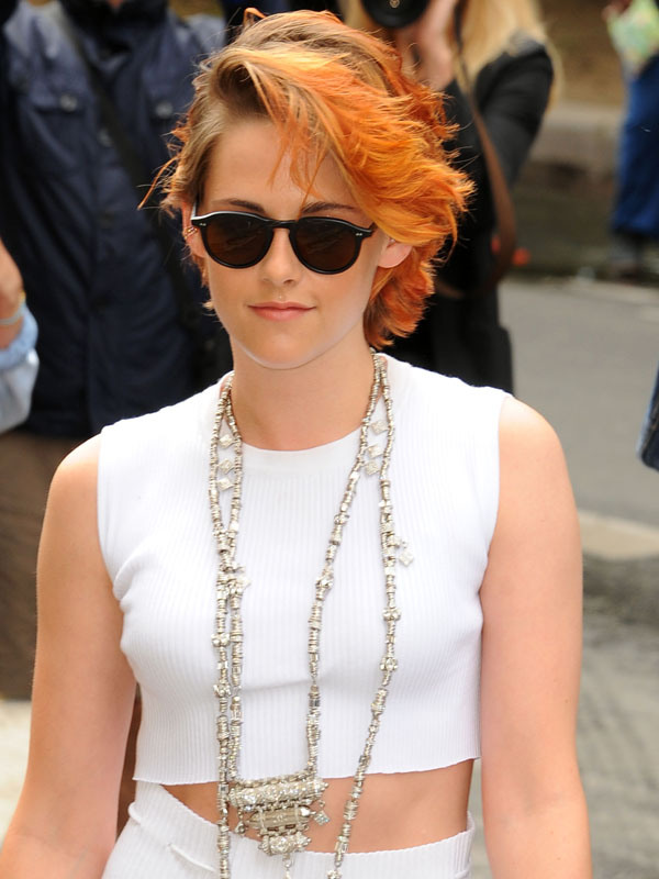 Kristen Stewart's New Hair Hue