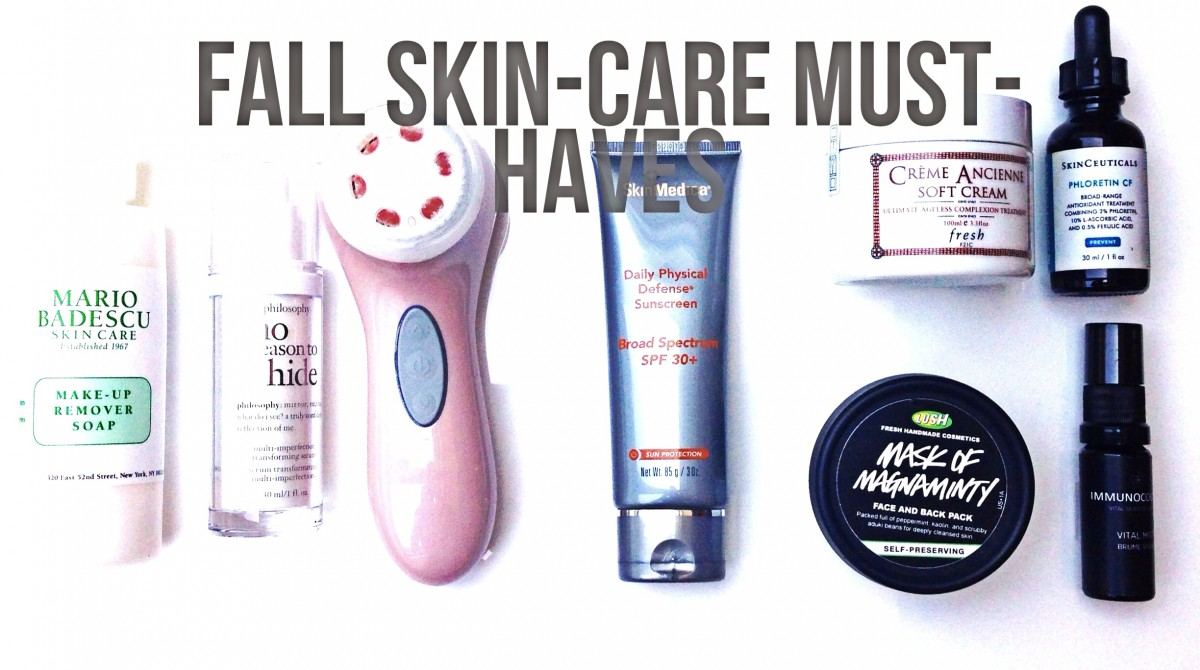 8 Skin Care Must-Haves For Fall