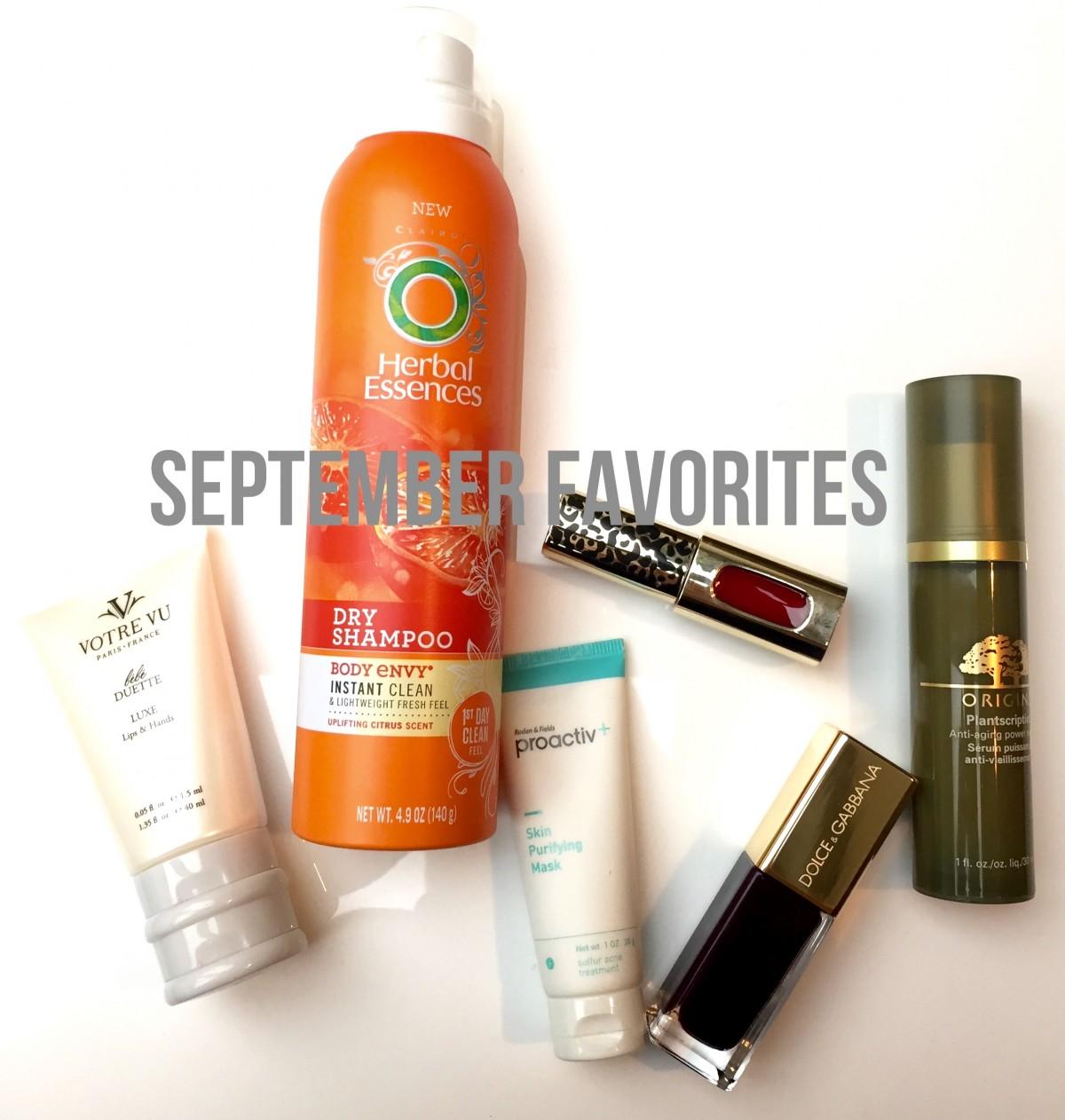 VIDEO: September Favorites