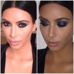 Kim Kardashian's Makeup Look For John Legend's Birthday Party