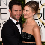 Behati Prinsloo's Golden Globes Simple French Twist & Minimal Makeup Combo = Deadly