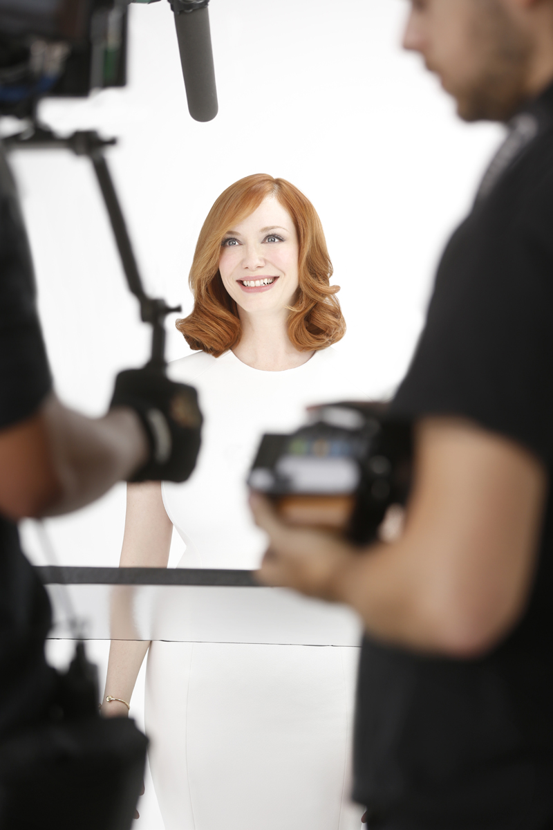 Perfect Pairing: Christina Hendricks Is The New Face Of