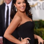 The Trick To Gina Rodriguez' Matte Makeup Look Last Night