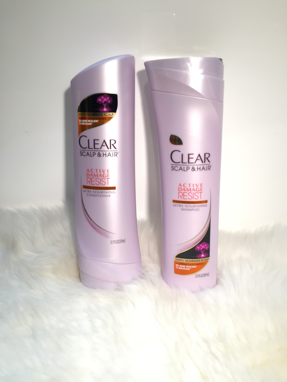New: CLEAR Active Damage Resist Ultra Nourishing Shampoo & Conditioner