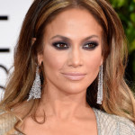 2015 Golden Globes Makeup & Hair: Jennifer Lopez