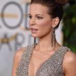 2015 Golden Globes Hair & Makeup: Kate Beckinsale