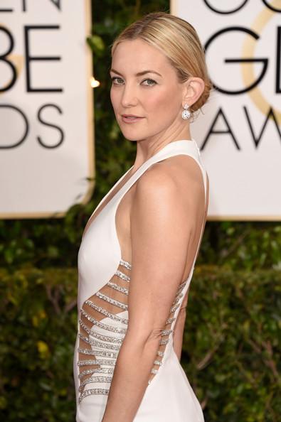 Golden Globes 2015 Hair & Makeup: Kate Hudson