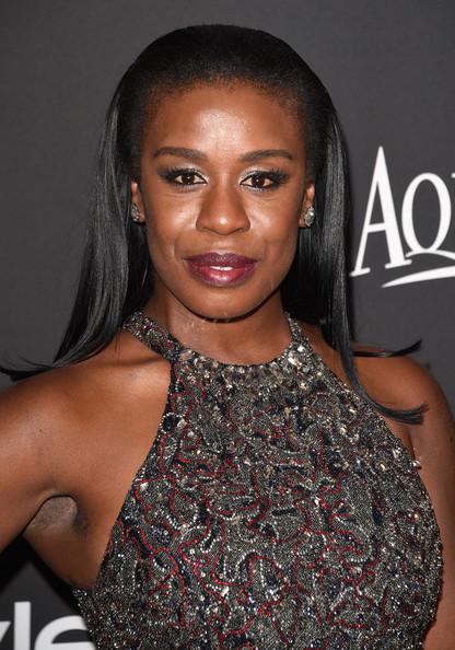 Golden Globes 2015 Makeup: Uzo Aduba   Rouge 18