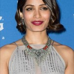 The Trick To Frieda Pinto's Modern Grace Kelly Hair Moment