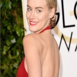 Taylor Schilling Serves Grace Kelly Realness At The Golden Globes