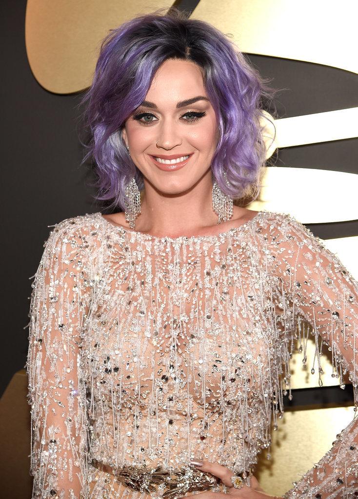 Katy Perry's Sleek Grammys 2015 Makeup