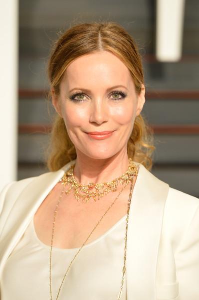 Leslie Mann's Pretty Oscars Ponytail
