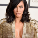The Trick To Kim Kardashian's Grammys 2015 Hair & Makeup