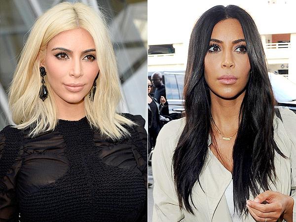 The Secret To Kim Kardashian's Healthy Hair Post-Bleaching