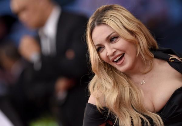 Met Ball 2015 Hair: Madonna